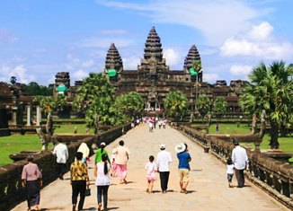 Tourism numbers in Cambodia on the rise