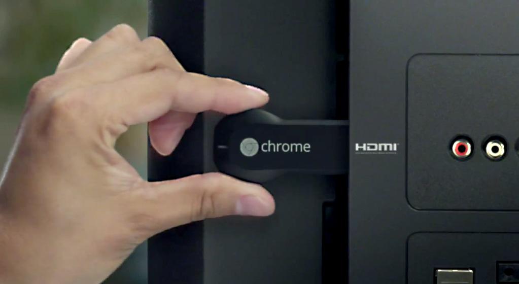Introducing Google Chromecast
