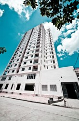 condominium tower in Phnom Penh