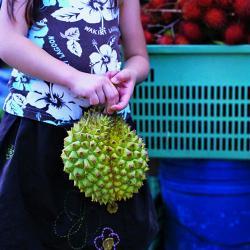 durian girl