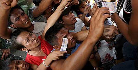 Filipinos feel food insecure