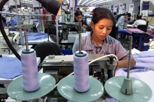 garment factory Cambodia