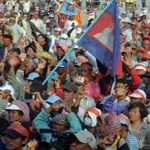 Police fire warning shots at Cambodia protesters