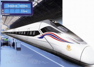 At 250 km per hour to Pattaya