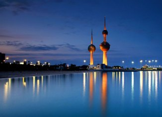 Kuwait Towers Sunset