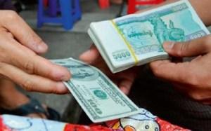 kyat dollar