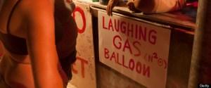 laughing-gas vendor