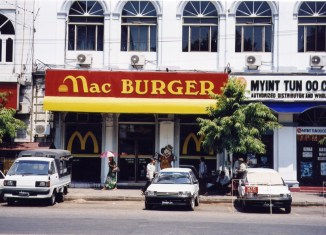 Finally: Fast food on the table in Myanmar