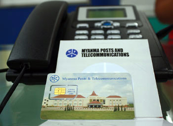 Myanmar 3G SIMs drop to $2