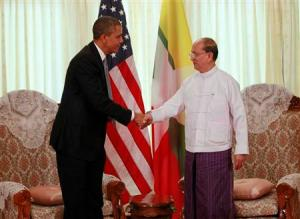 Myanmar president to visit Washington