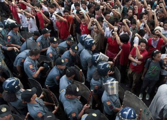 Philippines online activists call for protest march