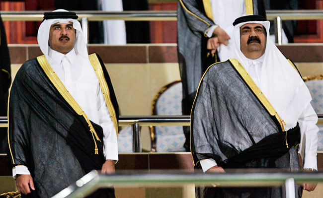 What's behind the leadership change in Qatar?