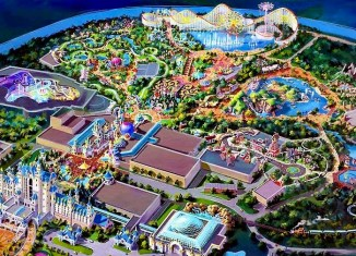 Six Flags theme park to open in Dubai in 2017