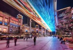 smart city walkway