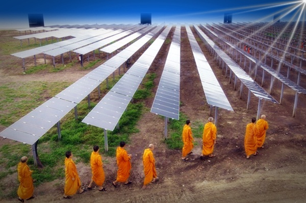 Thailand turns to solar power