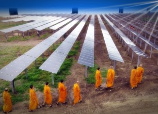 Thailand turns to solar power
