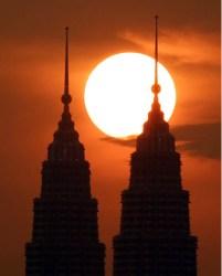 sunset-petronas