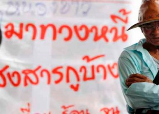 Thai rice farmer draw Feb 15 deadline for government