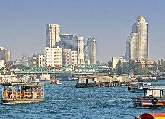 Thailand Chao Phraya River Bangkok