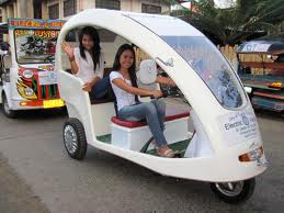 "Electric tricycles are one of the measures to make the Philippines ""greener"""
