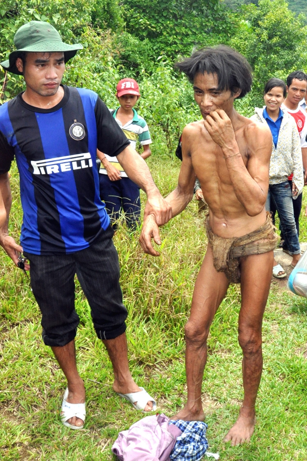 Father and son reemerge from Vietnam jungle after 40 years