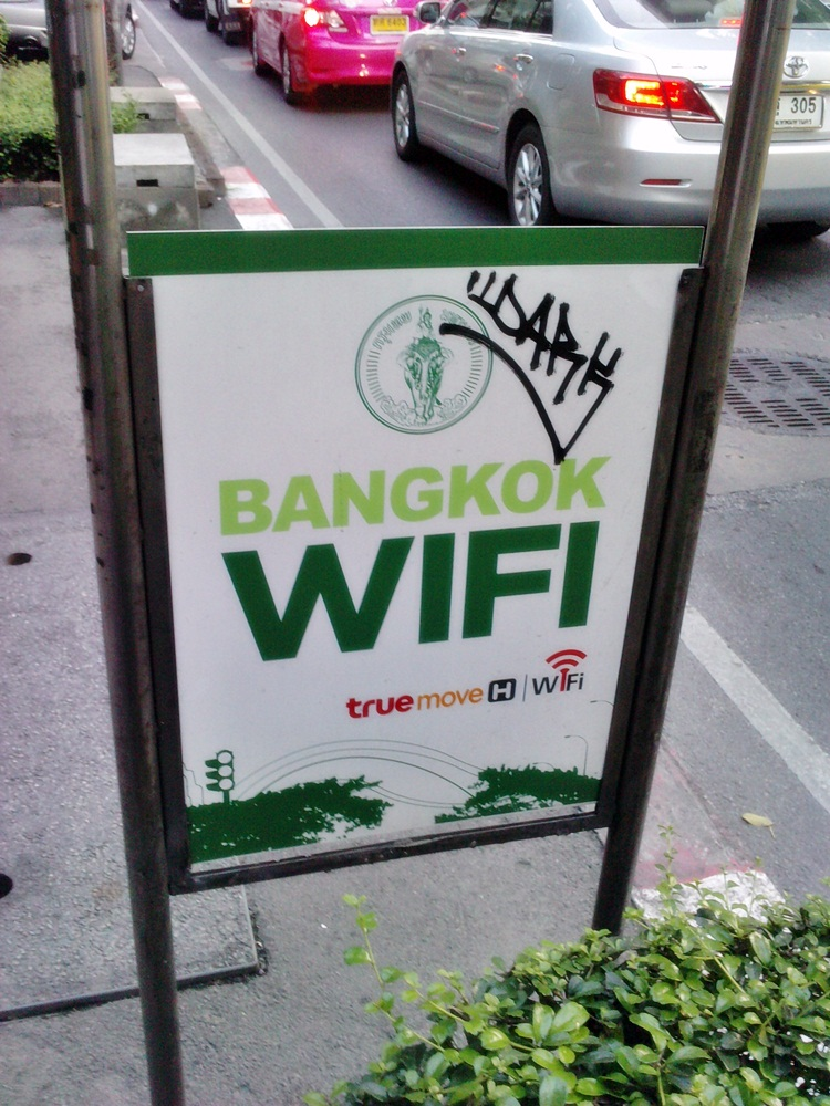 Thailand gets 420,000 free WiFi spots