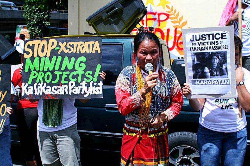 Xstrata Protest