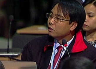Filipino UN delegate on hunger strike for climate action