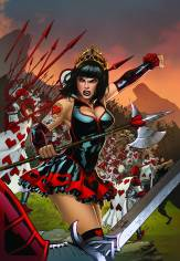 GRIMM FAIRY TALES WONDERLAND CLASH OF QUEENS #1 COVER D