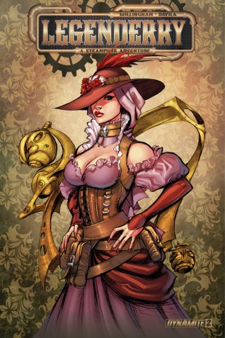 LEGENDERRY A STEAMPUNK ADVENTURE #2 BENITEZ COVER