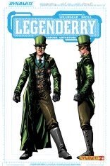 LEGENDERRY A STEAMPUNK ADVENTURE #2 CONCEPT HORNET COVER