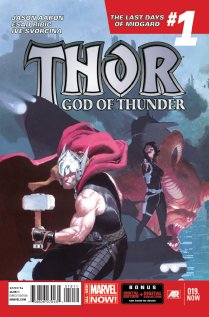 THOR GOD OF THUNDER #19