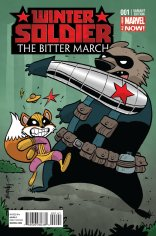 WINTER SOLDIER THE BITTER MARCH #1 VARIANT B
