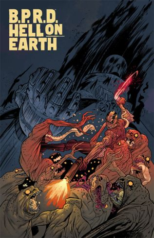 B.P.R.D. HELL ON EARTH #117 ALBUQUEQUE COVER