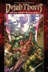 DEJAH THORIS AND THE GREEN MEN OF MARS #12 ANACLETO COVER