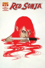 RED SONJA #8 FRISON COVER