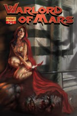 WARLORD OF MARS PARRILLO COVER