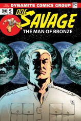 DOC SAVAGE #5 CASSADAY COVER