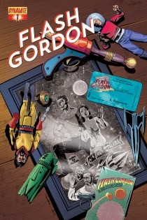 FLASH GORDON #1 80TH ANNIVERSARY COVER