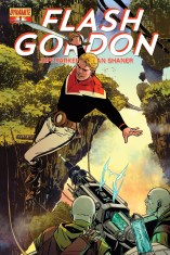FLASH GORDON #1 LAMING COVER