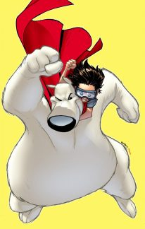 HEROBEAR AND THE KID SAVING TIME #1 COVER B