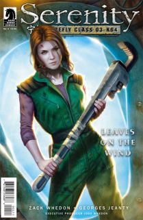 SERENITY LEAVES ON THE WIND #4 DOS SANTOS COVER