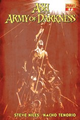 ASH AND THE ARMY OF DARKNESS #7 SUB COVER