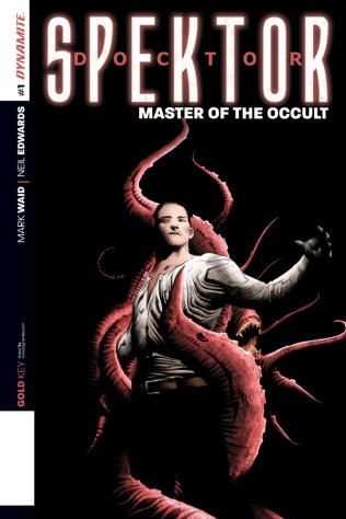 DOCTOR SPEKTOR MASTER OF THE OCCULT #1 LEE COVER