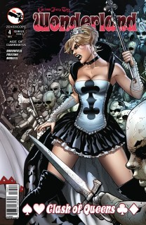 GRIMM FAIRY TALES WONDERLAND CLASH OF QUEENS #4 COVER D