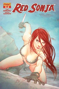 RED SONJA #9 FRISON COVER