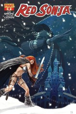 RED SONJA #9 HANS COVER