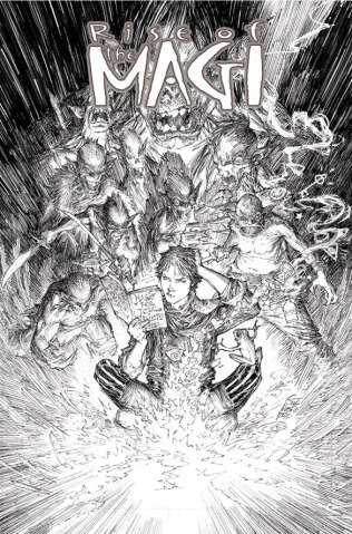 RISE OF THE MAGI #1 COVER C