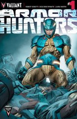 ARMOR HUNTERS #1 VARIANT A
