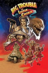 BIG TROUBLE IN LITTLE CHINA #2 COVER A
